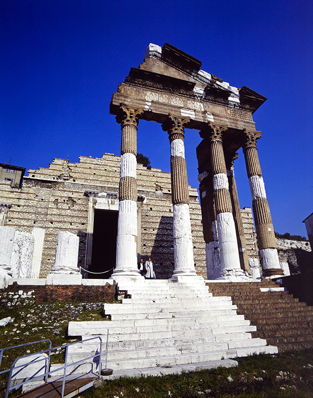 Tempio di Vespasiano - Brescia